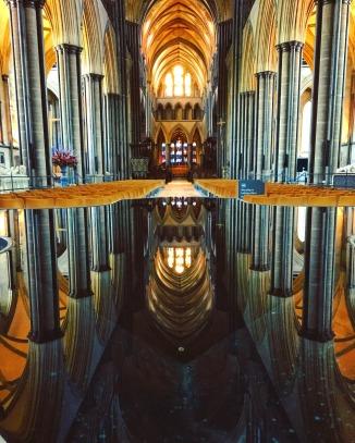 Baptismal Font, Salisbury Cathedral, Salisbury, England (2016)